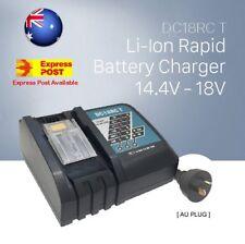 Makita DC18RC Rapid Battery Charger Li-Ion Australian Model 14.4V-18V AU