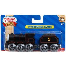 INTRODUCING JAMES Thomas Wooden Wood Tank Train hero NEW IN BOX