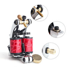 Professional 3 Coils Tattoo Machine Gun with 10 Wraps Coils for Liner and Shader