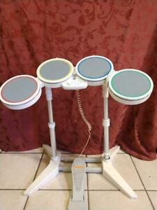 ROCK BAND Nintendo Wii DRUMSET USB connector dongle No sticks