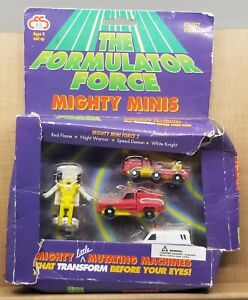 The Formulator Force Mighty Little Mutating Machines Transform Minis Toy Set 90s