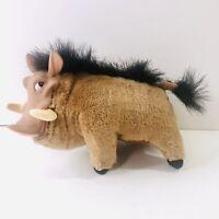 Vintage Pumbaa Warthog Lion King Disney Stuffed Animal Plush Toy Mattel 1994