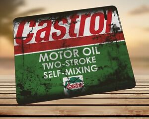 Castrol oil can splattered Advert Mouse Mat Mouse Pad Gift Idea! Mechanic Cars