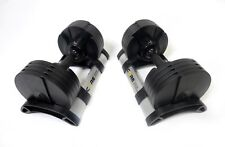 Adjustable Dumbbell Set By Core Home Fitness - 5-50 lbs -