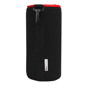 Large Neoprene Lens Bag Protective Sleeve Water & Scratch Resistant Pouch Case