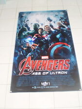 AVENGERS:AGE OF ULTRON BANNER Movie Poster 3x5ft. print huge Rare  art decor