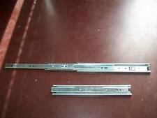 Heavy Duty 125kg draw slides (300mm-1000mm)