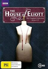 House of Eliott Complete season 1, 2 & 3 DVD Box Set R4 new & sealed