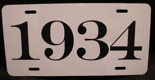1934 YEAR LICENSE PLATE FITS CHEVY FORD CHRYSLER BUICK PACKARD HUDSON NASH DODGE