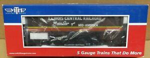 MTH 35-76008 ICRR Flat Car #62810 w/48' Trailer (Smooth) S-Gauge NIB