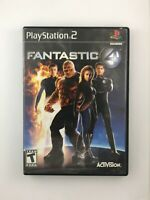 Fantastic 4 - Playstation 2 PS2 Game - Tested