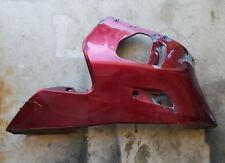 99 00 01 02 Yamaha YZF R6 OEM Right Lower Side Fairing Plastic Cowl Belly Red