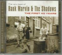 CD DOPPIO: HANK MARVIN & THE SHADOWS BEST OF CON 45  BRANI  NUOVO NON SIGILLATO