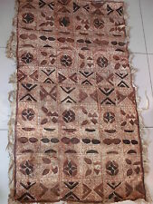 Antique Tapa South Pacific Islands Bark Cloth no batak dayak asmat batik ikat