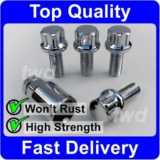 4 x ALLOY WHEEL LOCKING BOLTS FOR VW GOLF MK1 MK2 MK3 (M12x1.5) NUT STUDS [Y0b]