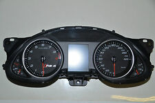 Audi RS4 8K S4 Kombiinstrument 8K0920931G Benzin Speed Controll Unit FIS Cluster