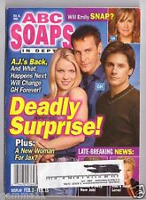 ABC SOAPS IN DEPTH GENERAL HOSPITAL GH DEADLY SURPRISE FEB 2005