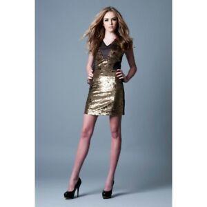 POCKETFUL OF DREAMS - The Bridgette Dress (POD1023.100 - Gold/Black)