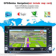 "Doppio 2Din 6.2"" 3G WIFI GPS Bluetooth Navigatore Autoradio Car HD CD DVD Player"