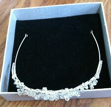 Swarovski wedding tiara bride headpiece hairpiece sparkly accessory hair crown