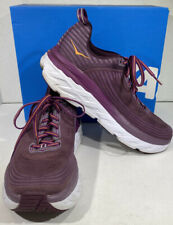 Hoka One One Bondi 6 Women's Size 7 Purple Athletic Running Shoes X4-1661