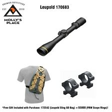 Leupold 170683, VX-3i 3.5-10X40 Duplex CDS Matte Rifle Scope w/ Gifts!