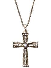 Goth gothique bijoux cross necklace robe fantaisie bijoux Prêtre Nonne Moine nouveau
