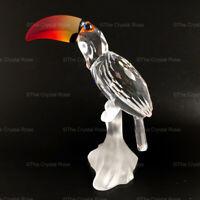 RARE Retired Swarovski Crystal Toucan with Colour Beak 234311 Mint Boxed