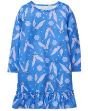 Gymboree Blue Snowflake Fairies Knit Nightgown Girl Size 5-6 Sleepwear Gymmies