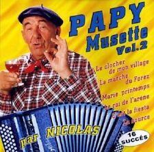 Papy musette volume 2 CD DE MUSIQUE NEUF SOUS BLISTER