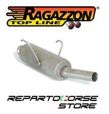 RAGAZZON SCARICO TERMINALE ROTONDO PEUGEOT 106 1.4 SPORT 55kW 75CV - 58.0004.99