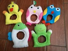 5 new lens buddy camera lens cover make rattle sound for kid/baby photography
