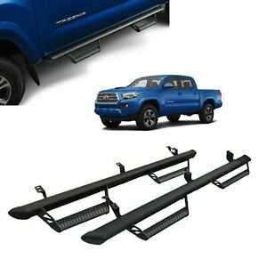 OEM TOYOTA 2016-2021 TACOMA PREDATOR RUNNING BOARDS DOUBLE CAB ONLY
