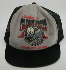Vtg. Snapback Trucker Hat--USA-- Sunrise Sales Mesh Indian Trading Post, Nevada-