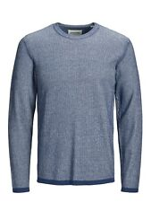 JACK & JONES Coeur Hommes Pull Manches Longues Col Rond Tricot Pull