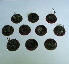 Swamped 32mm Resin Bases (10) Player Created Bijou Wetlands Custom Wargames