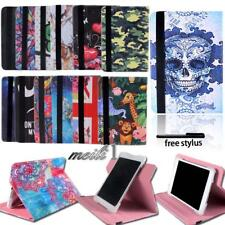 Folio Flip Leather Rotating Stand Smart Cover Case For Trio Stealth G2 G4 Tablet