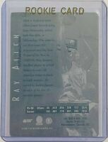 1/1 RAY ALLEN 1996 SCORE BOARD RC CARD #5 PRINTING PLATE MILWAUKEE BUCKS ROOKIE