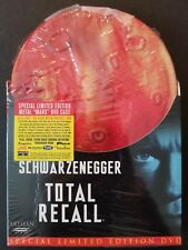 TOTAL RECALL - Special Limited Edition Mars Tin Case (DVD, 2001) NEW SEALED OOP