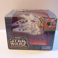STAR WARS MICRO MACHINES ACTION FLEET Millennium Falcon GALOOB 1995 NEW