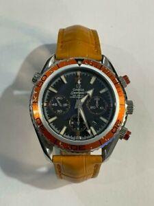 Omega Seamaster Planet Ocean Chronograph Co-Axial Men Watch 2918.50.82