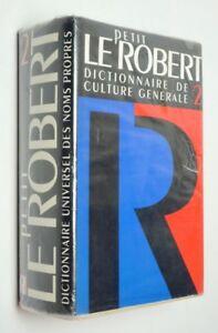 Le Petit Robert 2 : Dictionnaire des noms propres