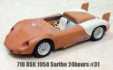 MFH Model Factory Hiro 1/24 718 RSK 1958 Sarthe 24 hours # 31 Multi-Material Kit