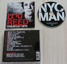 CD ALBUM NEW YORK CITY MAN GREATEST HITS LOU REED 18 TITRES 2004 BEST OF