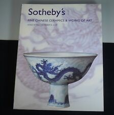 Sotheby's Chinese Fine Ceramics &Works of Art 2007 Hong Kong Auction Catalog 470