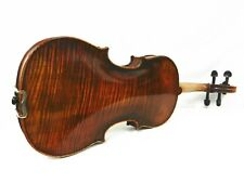 Old Spruce & Antique Violin 4/4,Dominant Strings+ France Bridge, One Piece Back!