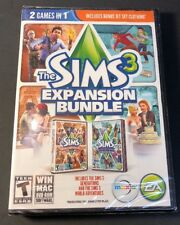 Sims 3 [ Expansion Bundle W/ Generations & World Adventures ]  (PC) NEW