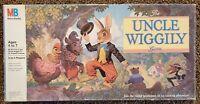 Milton Bradley UNCLE WIGGILY BOARD GAME vintage 1988 COMPLETE USA