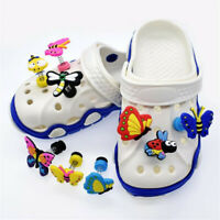 Imitation Butterfly Animal Shoe Accessories 10pcs Shoe Original Charms Decor