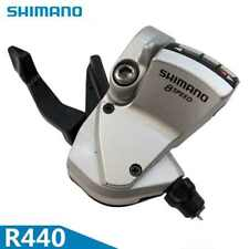 Shimano R440 3x8 Speed - Flat Bar Pair of Trigger Shifters - Road Bicycle - F+R